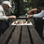 chess players playing chess